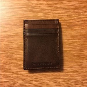 Other - Swiss gear leather wallet